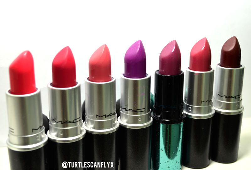 mac lipsticks