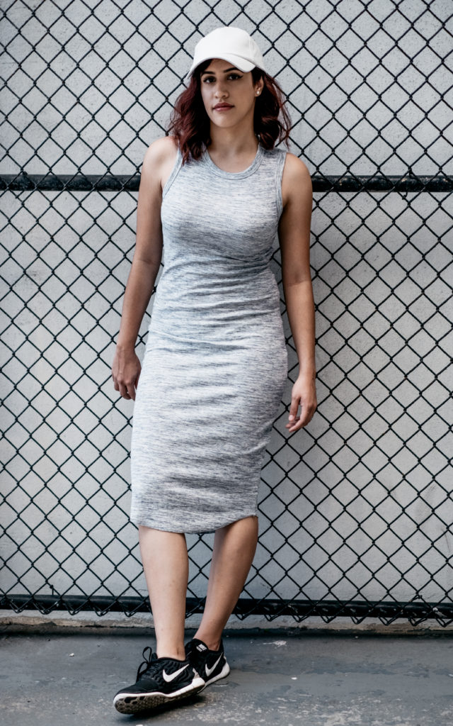 Heathered Bodycon Dress