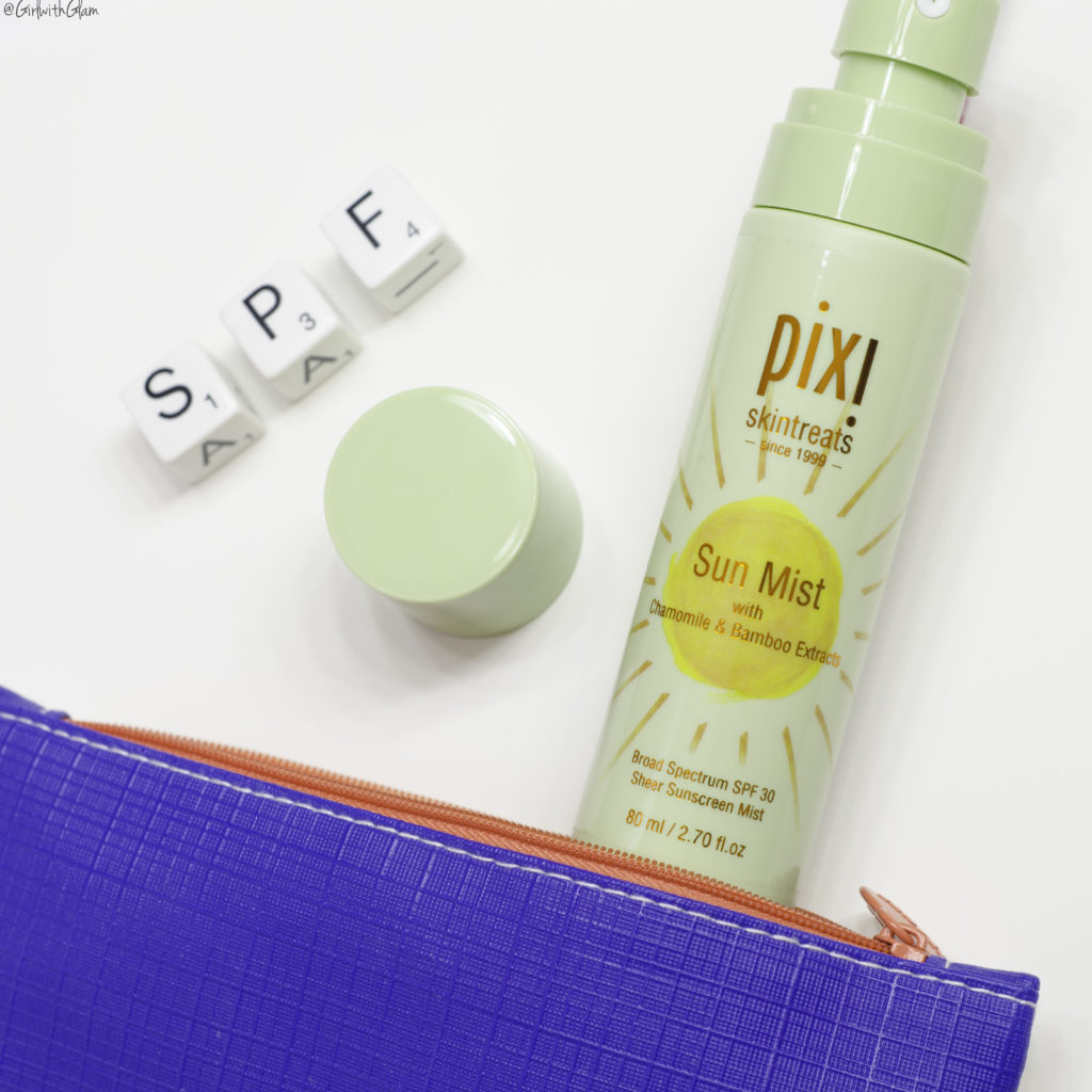 Pixi Beauty Sun Mist SPF 30 Review