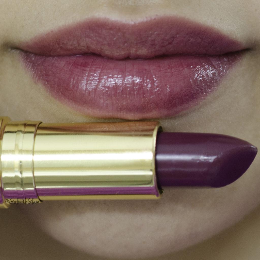 revon lipstick in plum velour
