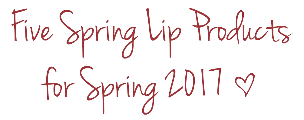 spring lip products
