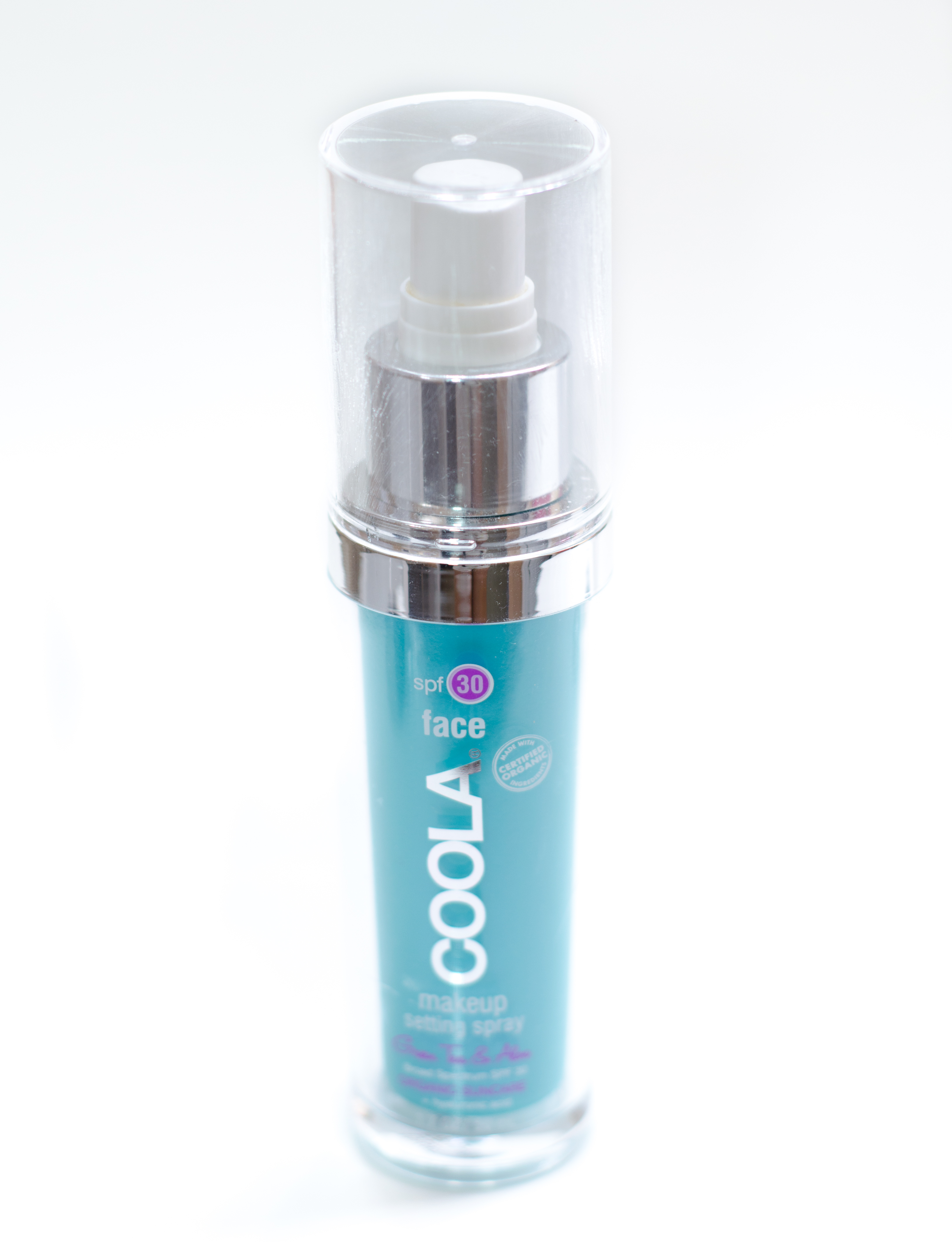 coola makeup setting spray spf 30 review