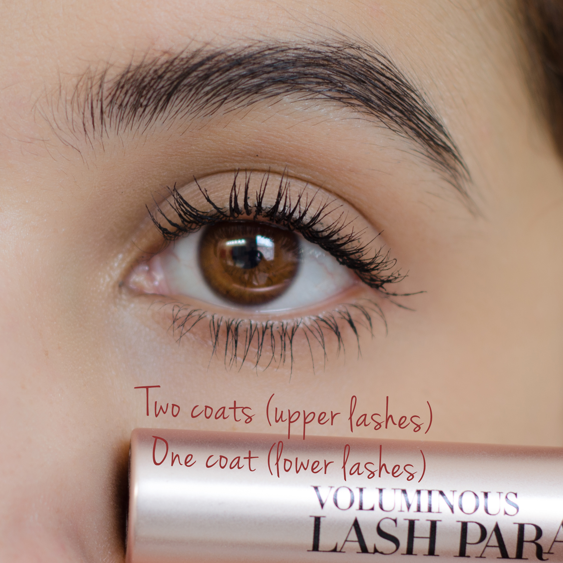 l'oreal voluminous lash paradise review wear test